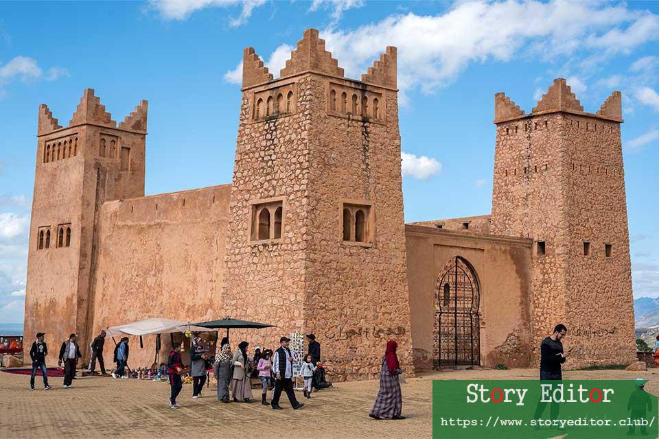 Kasbah Ein Osrdon (Morocco)
