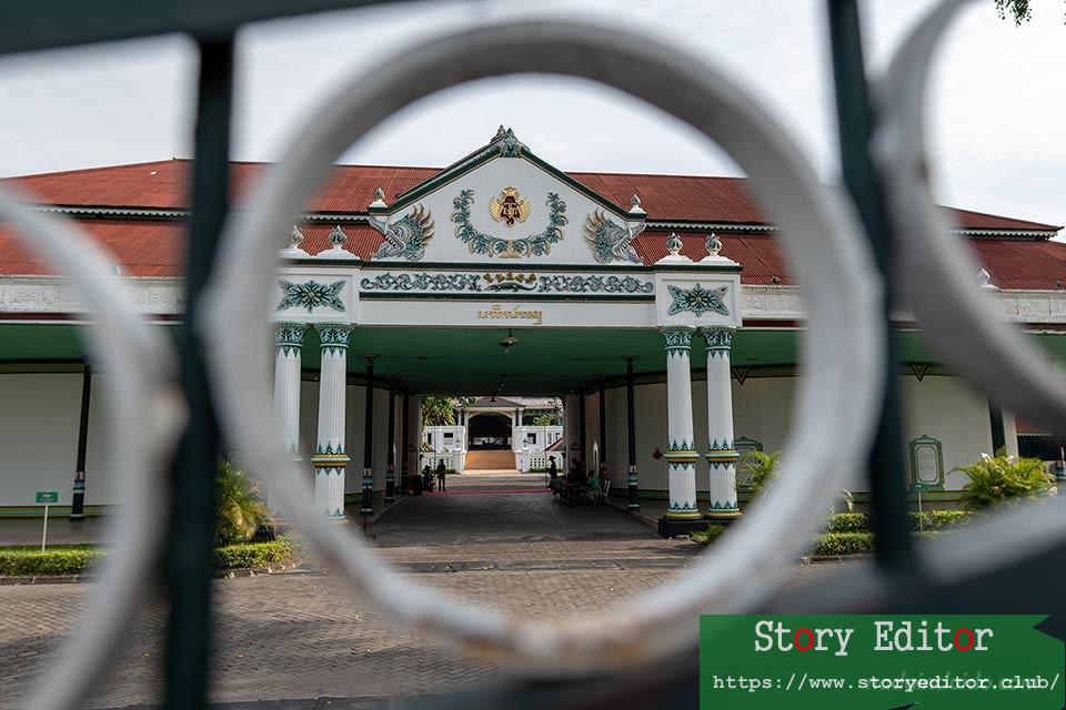 Palace of the Sultan of Yogyakarta (Java, Indonesia)