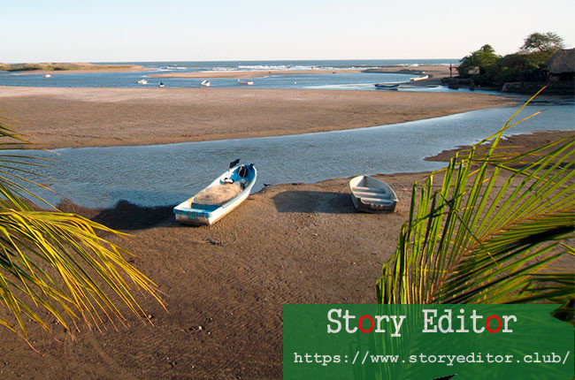 Las Pesetas beach, in the Leon region (Nicaragua)