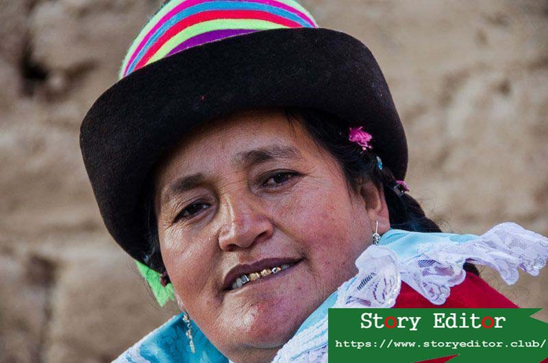 woman from humacchuco community